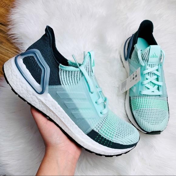 Adidas Ultraboost 19 Ice Mint Grey Six